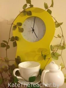General English: 5 o'clock tea
